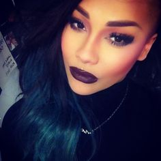 I love everything about this look. #fierce #makeup #brows