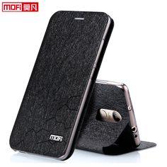 Xiaomi redmi note 3 pro caseフリップカバーxiaomi redmi note 3プロcaseレザーmofi xiomi edmi注3プロcoque高級ゴールドブラック