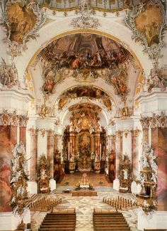 Architecture Baroque, Beautiful Architecture, Beautiful Buildings, Beautiful Places, Classical Architecture, Ancient Architecture, Sustainable Architecture, Landscape Architecture, Aesthetic Art