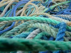 cordages bleu