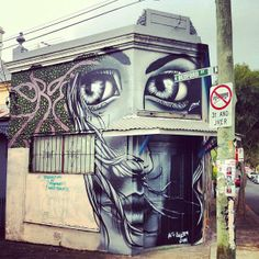 Eoin Much Love   urban art   grafite   mural   graffiti   Street art   art   MINI   Miniac   Mini lifestyle   Schomp Mini