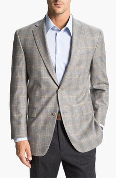 Hart Schaffner Marx Plaid Wool Sportcoat available at #Nordstrom