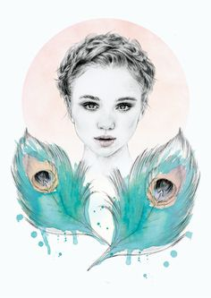emily by Sheryl Young, via Behance
