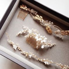Gold-wedding-headpieces-Percy-Handmade.png (600×601)