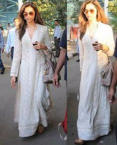 Deepika Padukone in Lucknowi Chikan
