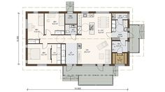 Future House, House Plans, Floor Plans, Cottage, Flooring, How To Plan, Case, Sims, House Ideas