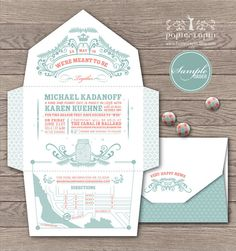Open-Me-Softly Fireflies series, self-mailer, eco-friendly paper, mason jar, retro pastel tone // SAMPLE