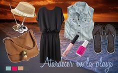 """Atardecer en la playa"" by lablem on Polyvore"
