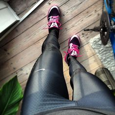 "sexymotivation: ""I love fall/winter running gear. """