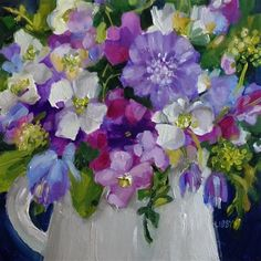"""Daily+Paintworks+-+""""Inside+Story""""+-+Original+Fine+Art+for+Sale+-+©+Libby+Anderson"""