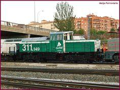 Locomotora 311.149 de Adif en Salamanca