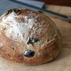 Dave thought he might like this Recipes   Whole Wheat Country Bread with Olives and Rosemary   Sur La Table