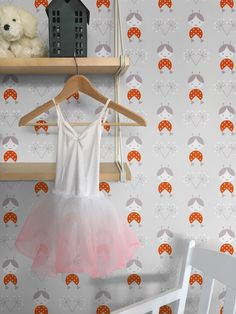 Zofka Grey, 162.102 cute kids wallpaper from the Lavmi Yellow book. Guthrie Bowron is proud to be the exclusive New Zealand stockist of wallpaper from the Czech Lavmi brand.