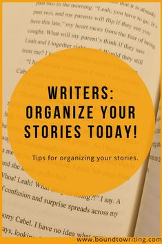 Writing Resources: Organize Your Story. There are many writing tools out there to help you organize your story. Today, I've compiled a list of my personal favorite ways to organize your story for ease of writing and editing. Fiction Writing, Writing Advice, Writing Resources, Blog Writing, Writing Skills, Creative Writing, Writing A Book, Writing Prompts, Writing Ideas