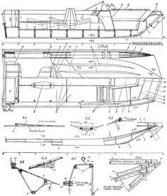 Конструктивный чертеж корпуса Aluminum Fishing Boats, Boat Plans, Rowing, Techno, Floor Plans, How To Plan, Building, Water, Product Design Poster