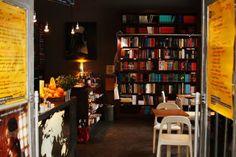 Wrzenie Świata, a cafe  bookshop in Warsaw, Poland.