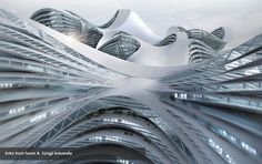 "Tongji University's entry into the ""Vertical Cities Asia International Design Competition"" - http://www.verticalcitiesasia.com"