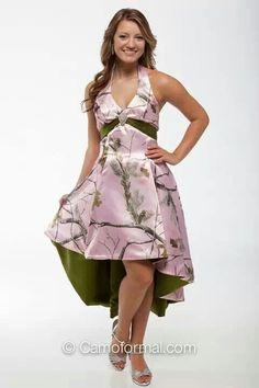Cute camo dress