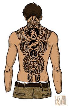 New Tattoo Designs Skull Dia De Ideas Back Tattoos, Future Tattoos, Body Art Tattoos, New Tattoos, Tribal Tattoos, Sleeve Tattoos, Tattoos For Guys, Cool Tattoos, Tatoos