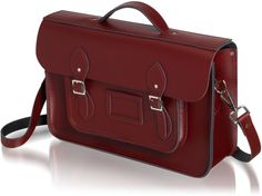 The Batchel | The Cambridge Satchel Company  It is hard to pass on the Vintage coloring, but this Oxblood is killing me right now!  I love the Batchel because I am always hauling so much around and it is the perfect size for a laptop PLUS :)