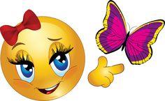 Lovely Smiley & Butterfly