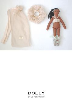 DOLLY by Le Petit Tom ® TIANA DOLL pale apricot | Le Petit Tom ®