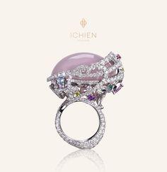 """High jewellery Кольцо """"Рождение розовой планеты"""""""