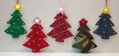 Christmas decorations using e-textiles - blog, links to tutorials & components to buy