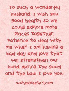 Love Quotes Happy Birthday To My Husband Message HusbandBirthday Wishes