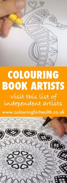 List Of Quality Colouring Books Artists