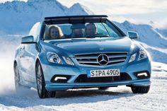 Mercedes Benz E-Klasse Cabrio Akustik Verdeck Softtop Aircap Airscarf E 250 CDI BlueEfficiency 220 V6 350 CGI 200 500 V8