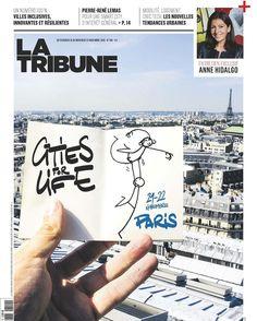 Elyx danse en couverture de @latribunefr avec une jolie Elyxette !!! #CitiesForLife #BDTM #Paris