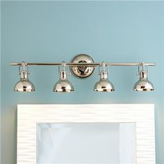 Pullman Bath Light - 4 Light - 2 Finishes $269 | Shades of Light