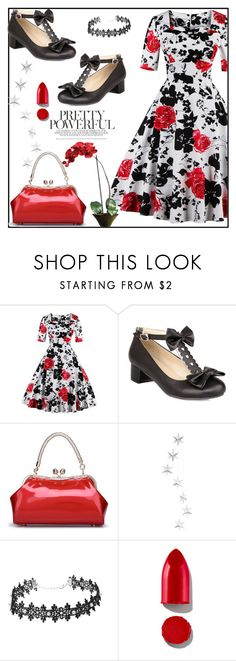 """Win $20 Cash from Rosegal!"" by boky-d ❤ liked on Polyvore featuring Rodin, Nearly Natural and vintage"