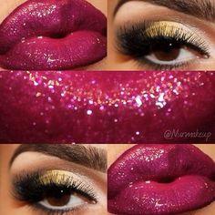#makeup #eyes #lips #beauty