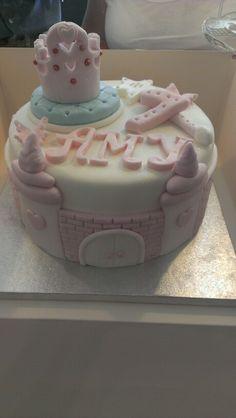 Princess themed cake