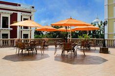 """Terraza Restaurante """"Son jarocho"""" Hotel Veracruz"""