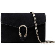Gucci Dionysus Suede Mini Chain Bag
