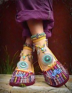 Bohemian Chic, Gypsy...Totally kool.