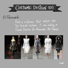 grizandnorm:  Tuesday tips — Costume Design 101. Costume design is a very important part of character design. It tells you a whole lot abou...