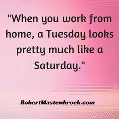 #workfromhome #convenience