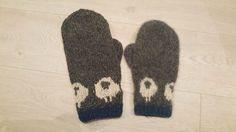 tova-votter-sau-for-og-etter-tovin-strikkefruene Ravelry, Knitting Patterns, Gloves, Socks, Embroidery, Crochet, Fingerless Mittens, Threading, Knit Patterns