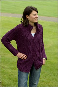 562947b21b8fa8 Ravelry  Cabled Cardigan (W204) pattern by Cascade Yarns Cardigan Pattern