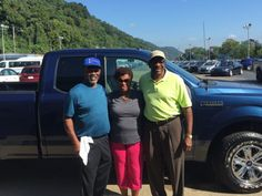 Garfield Bohanna and the rest of the Turnpike Ford Family wish to thank Mr & Mrs Simley for their business 😉👍