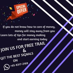JOIN US FOR FREE TRAIL & GET THE BEST SIGNALS ON WHATSAPP +65-8317-2169 - www.equityprofit.com