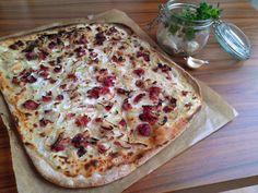 Alsaský tarte Vegetable Pizza, Quiche, Brunch, Bread, Cheese, Snacks, Vegetables, Breakfast, Food