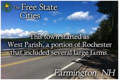 There's more about Farmington, New Hampshire at The Free State! http://freestatenh.org/encyclopedia/cities/farmington