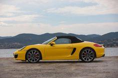 Porsche Boxster S - Yellow Car