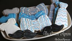 Nana Keeks Gourmet Organic Cookies Come To You Frozen, Fresh And Ready To Bake! Pop 'Em In The Oven And 10 Minutes Later You Have A Healthy, Delicious Cookie Option! Gluten Free Options Available! Baby Shower Cakes, Baby Shower Parties, Baby Shower Themes, Baby Boy Shower, Baby Shower Decorations, Shower Ideas, Bow Tie Cookies, Baby Cookies, Organic Cookies