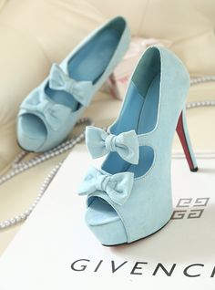 shoes- http://zzkko.com/n199387-013-summer-new-Korean-version-of-the-retro-shoes-School-bow-Hentian-high-heels-fish-mouth-single-shoes-women.html $25.40